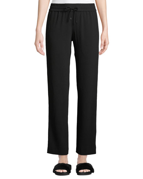 Kenzo Side-Stripe Drawstring Track Pants