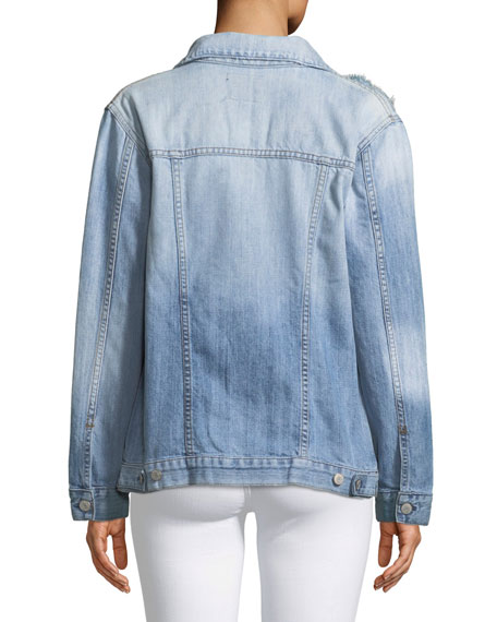 Knox Distressed Denim Jacket