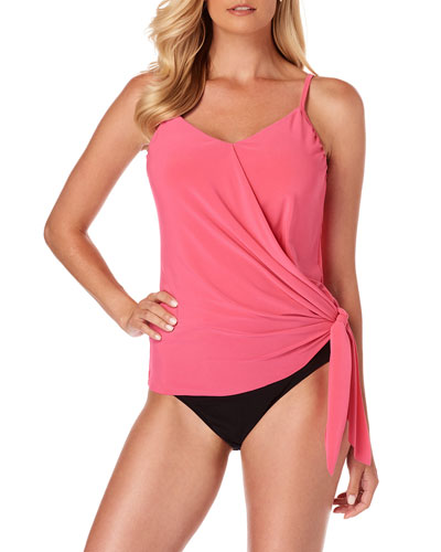 Alex Tie-Side Tankini Swim Top