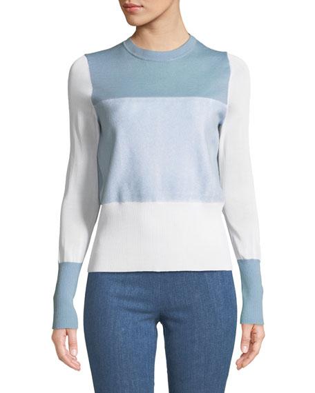 Marissa Colorblock Crewneck Pullover