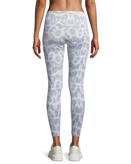 High-Rise Athletic Leggings, Soft Leopard