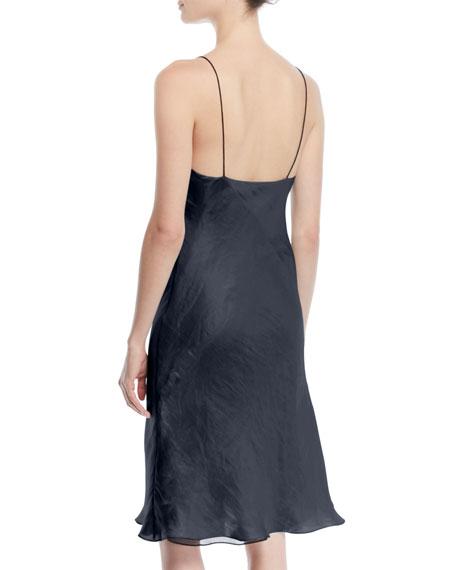 Astrid V-Neck Sleeveless Iridescent Slip Dress
