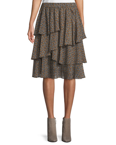 Layered Pop Deco Tulip Skirt