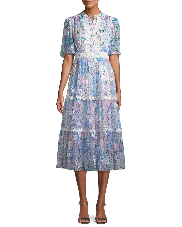 38fd973b1fc4 kate spade new yorkdaisy garden a-line midi dress. Free Shipping ...
