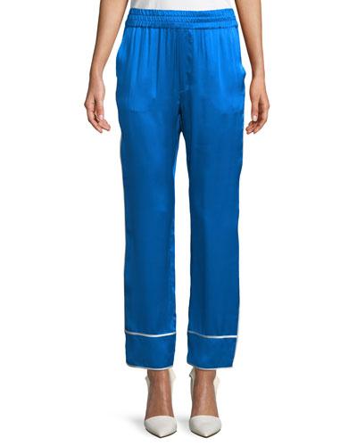 Coleen Silk Pants
