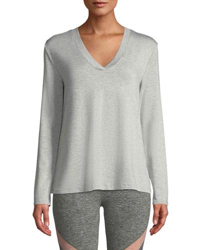Time To Split-Back Pullover Sweatshirt