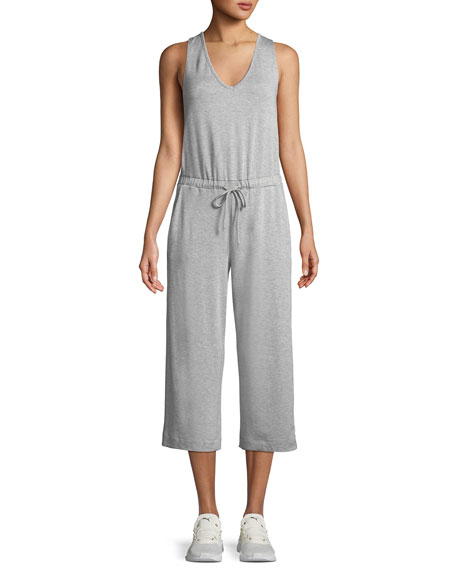 Beyond Yoga Farrah Scoop-Neck Sleeveless Wide-Leg Cropped