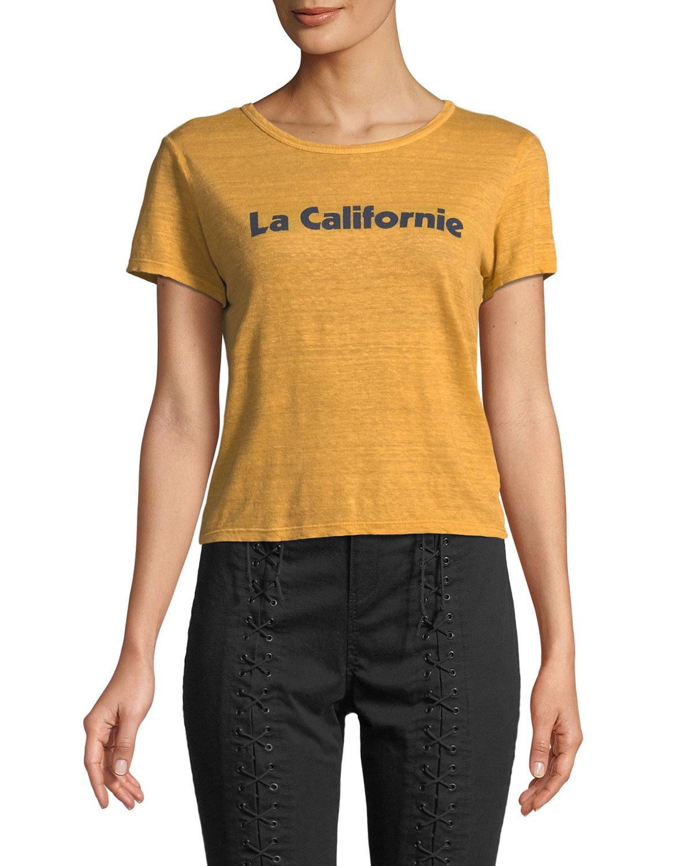 4c8127ccb9e1 A.L.C. La Californie Graphic Crewneck Tee