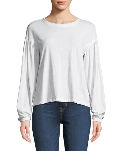 Carroll Dropped-Shoulder Cotton Tee