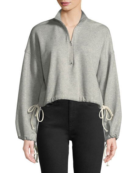 Gallagher Half Zip Pullover Sweatshirt by A.L.C.