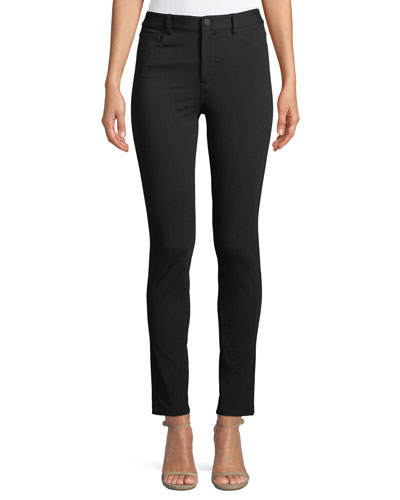 Fixture Ponte Five-Pocket Straight-Leg Pants