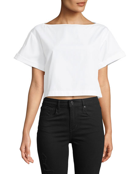 A.L.C. Woodsen Boxy Short-Sleeve Tee