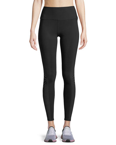 Alo Yoga Moonlit High-Waist Running Leggings