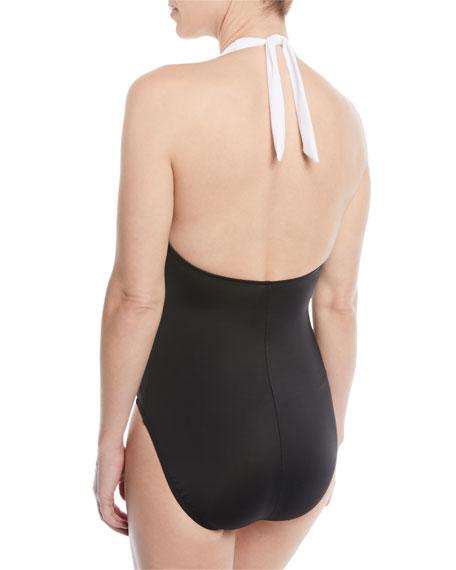 Bailey Colorblock One-Piece Swimsuit