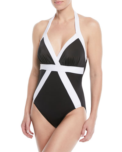 Bailey Colorblock One-Piece Swimsuit