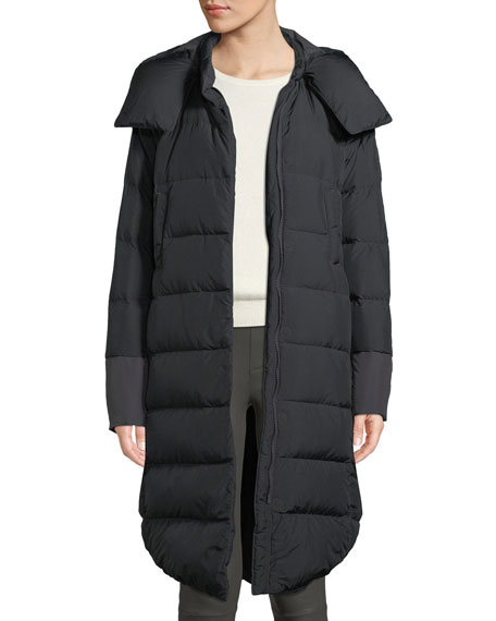 Cryos II Down Parka Coat w/ Snap-Off Hood