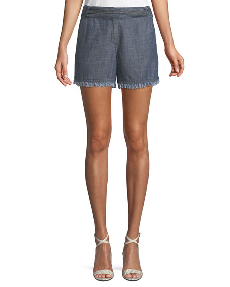 Anaheim Chambray Shorts w/ Tie Belt