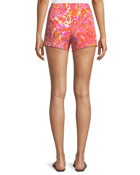 Corbin Shorts in La Flores Print