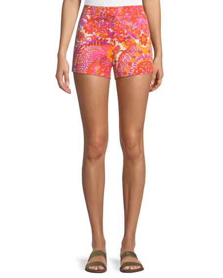 Trina Turk Corbin Shorts in La Flores Print