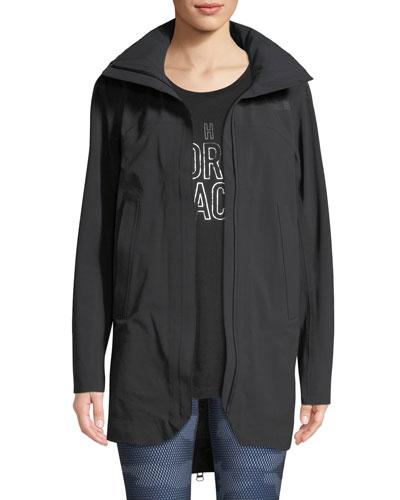Apex Flex GTX Zip-Back Trench Coat