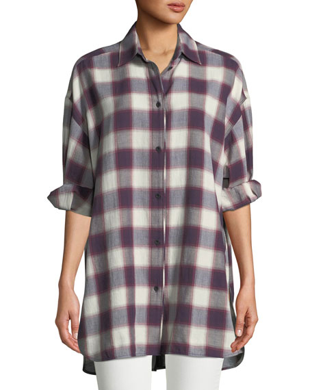 Elizabeth and James Elizabeth & James Clive Button-Down