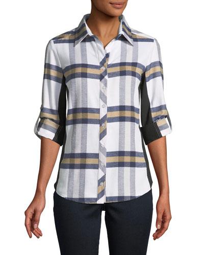Casey Plaid Combo Shirt