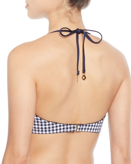 crosby check underwire swim top