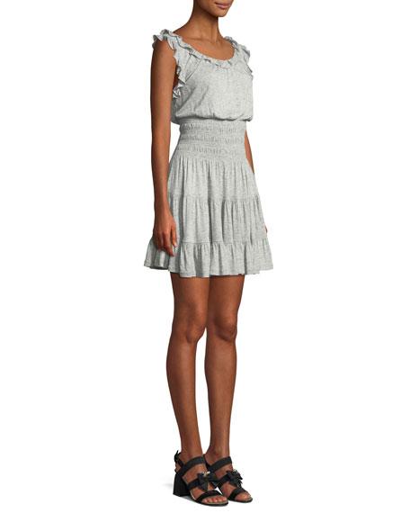 Sleeveless Ruffle Jersey Dress