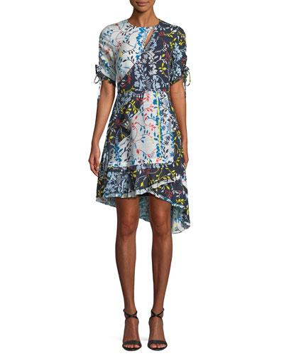 Siena Floral Vines High-Low Dress