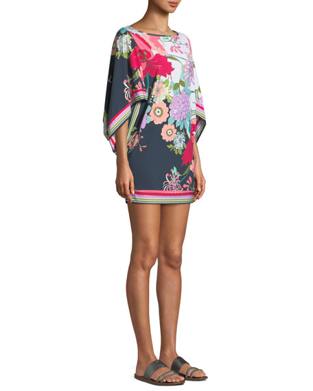 Royal Botanical Coverup Tunic