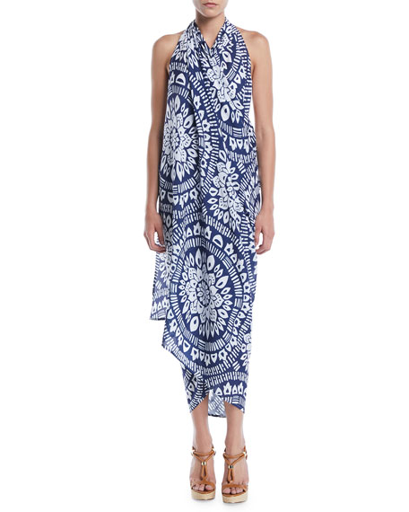 Indochine Printed Pareo Coverup