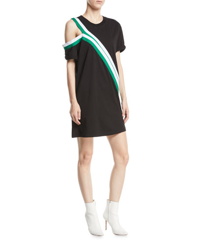 The Silt Striped Tee Dress