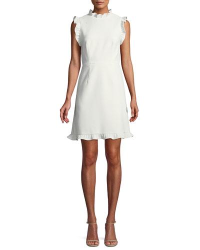 Little White Dress w/ Open Back