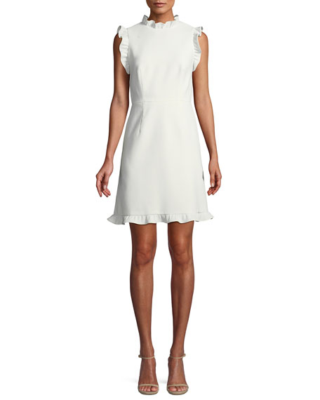 Jill Jill Stuart Little White Dress w/ Open