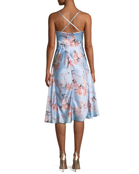 The Farren Floral Silk Dress