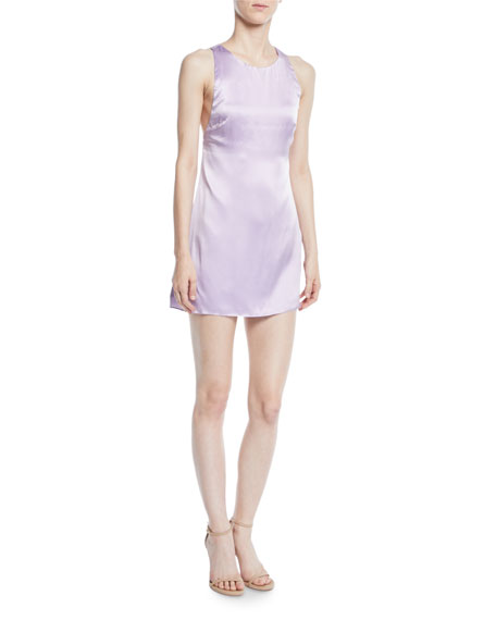 Fame and Partners The Ximena Silk Mini Slip