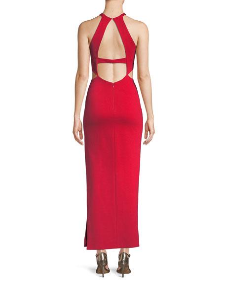 The Annalise Long Cutout Dress