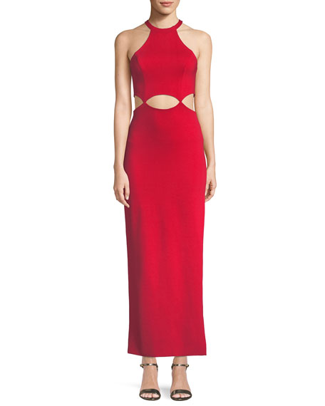 Fame and Partners The Annalise Long Cutout Dress