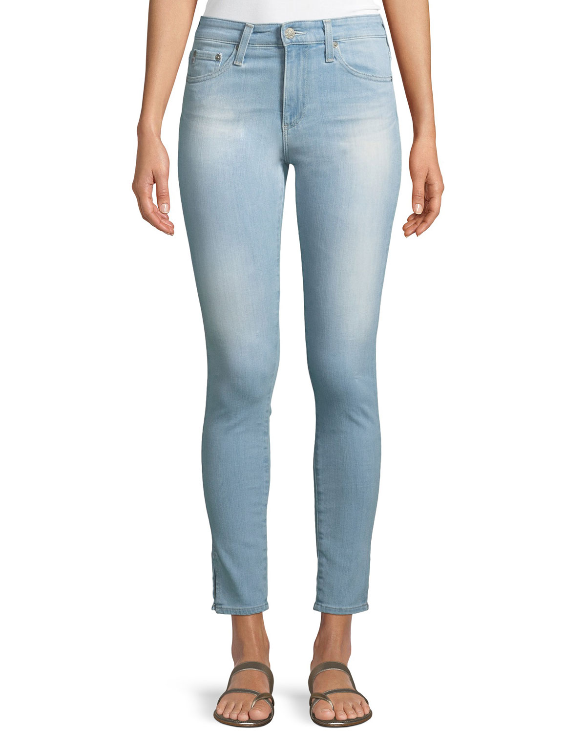 f6b1e5f9c8ed AG Adriano Goldschmied Farrah High-Rise Ankle Skinny Jeans
