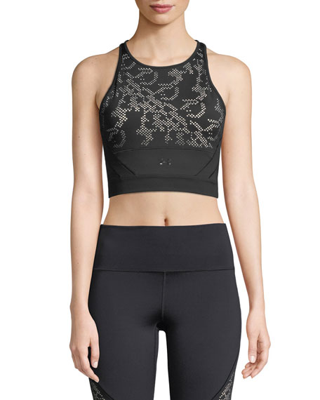 Signature Lace Performance Crop Top
