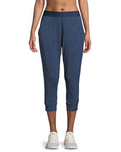 Balance Mesh Capri Jogger Pants