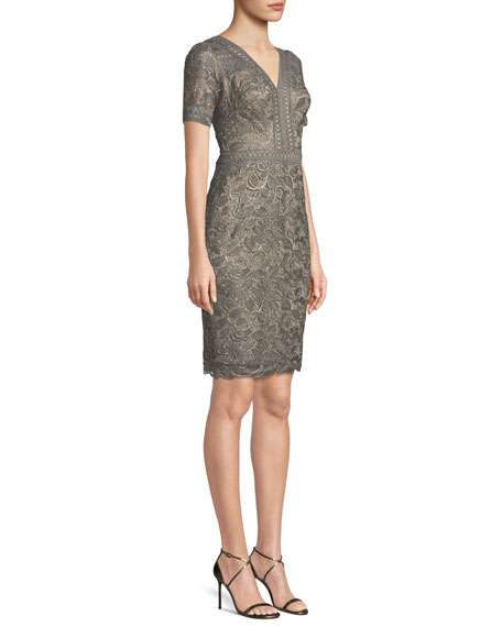 Katelyn Lace V-Neck Dress