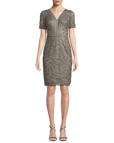 Katelyn Lace V-Neck Dress