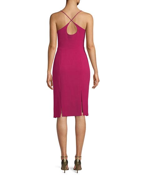 Robinson Sheath Dress w/ Car Wash Hem