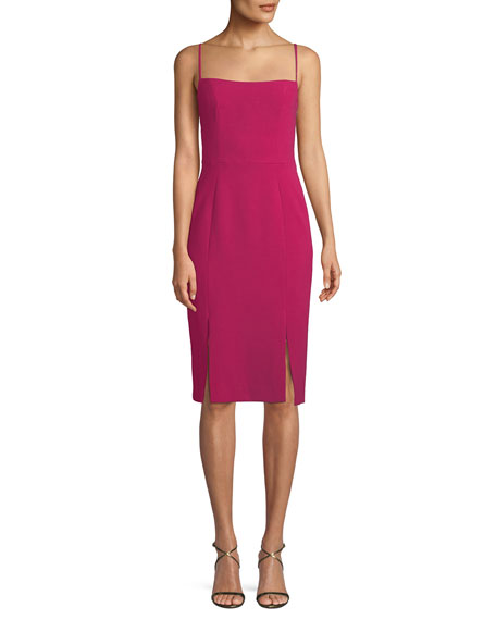 Robinson Sheath Dress w/ Car Wash Hem