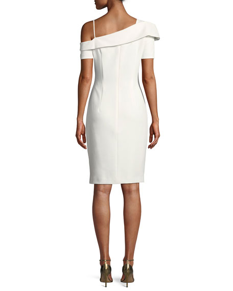 Stiles One-Shoulder Sheath Dress