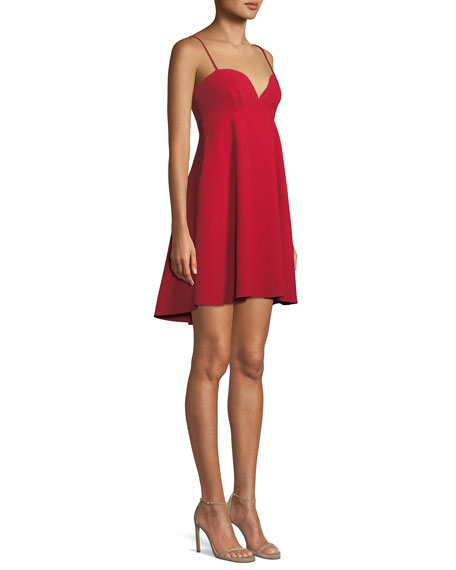 McAdam Babydoll Mini Dress