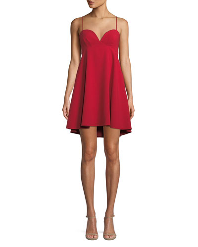 McAdam Babydoll Mini Dress
