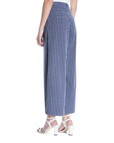 Charisma Striped Wide-Leg Pants
