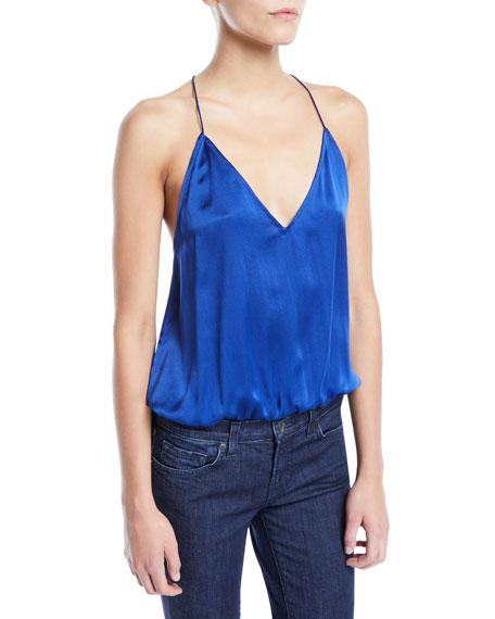 Lisa Silk Racerback Cami Bodysuit